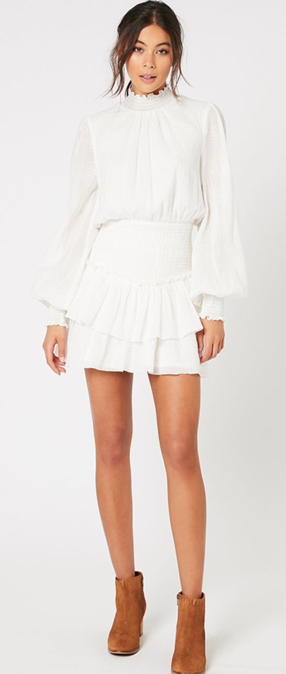 MINKPINK// Mylee High Neck Mini Dress