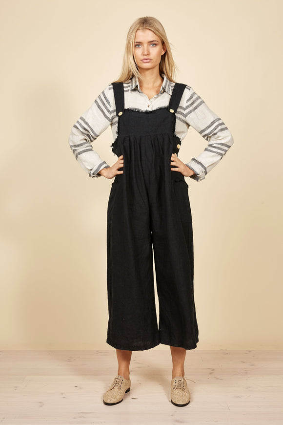 THE SHANTY CORP Desert Overalls - Black