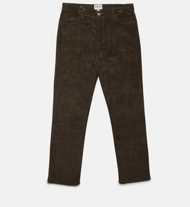 RHYTHM MENS Corduroy Jean Pant - Chocolate