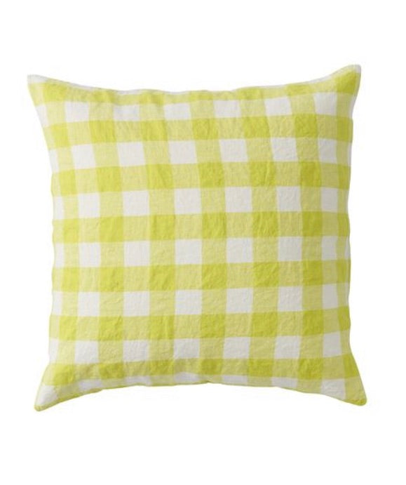 SOCIETY OF WANDERERS // Cushion Cover With Insert - Limoncello