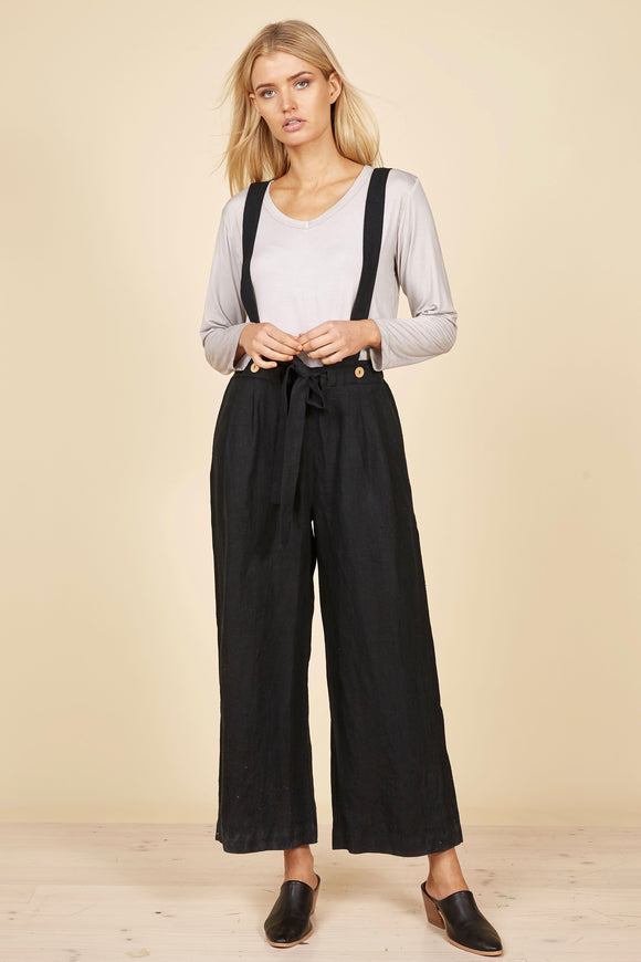 THE SHANTY CORP Oliver Pants/Overalls - Black