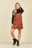 DAISY SAYS Monica Tie up Pinafore - Rust