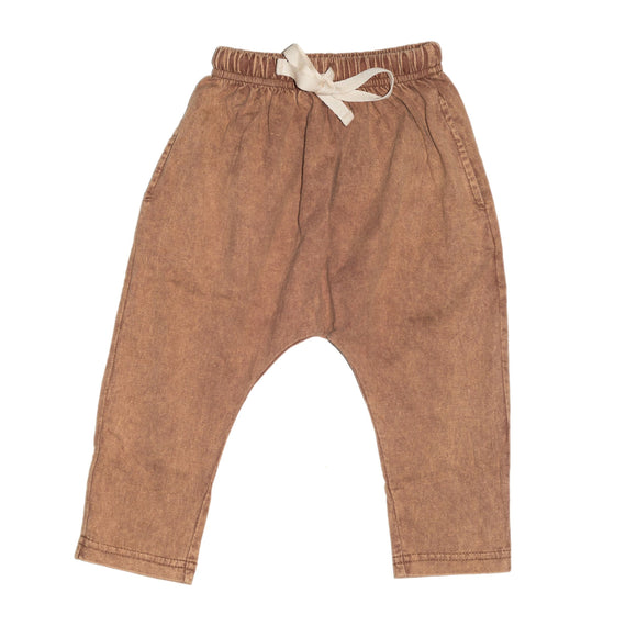 CHILDREN OF THE TRIBE Terracotta Chill Pants