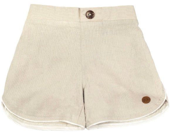 CHILDREN OF THE TRIBE // Ecru Boys shorts