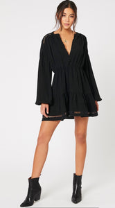 MINKPINK// Keely Trim Mini Dress
