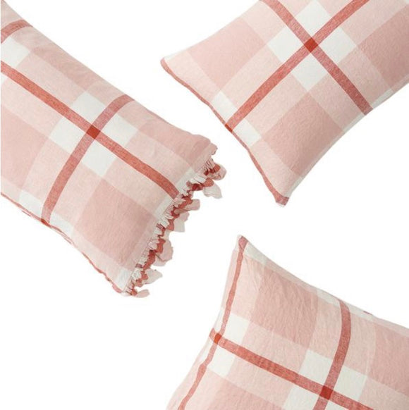 SOCIETY OF WANDERERS // Ruffle Pillowcase Set - Floss