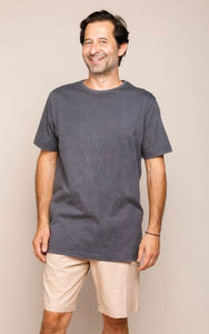 TRUE NORTH // Cabo Tee Charcoal
