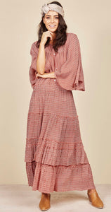 TALISMAN // Melrose Maxi Dress Mirage