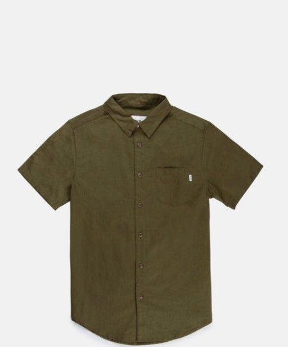 RHYTHM MENS // Apartment SS Shirt Olive