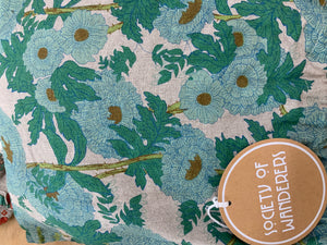 SOCIETY OF WANDERERS Cot fitted sheet Joan floral