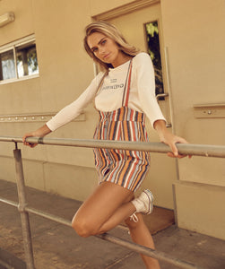 DAISY SAYS Carnival Stripe Pinafore