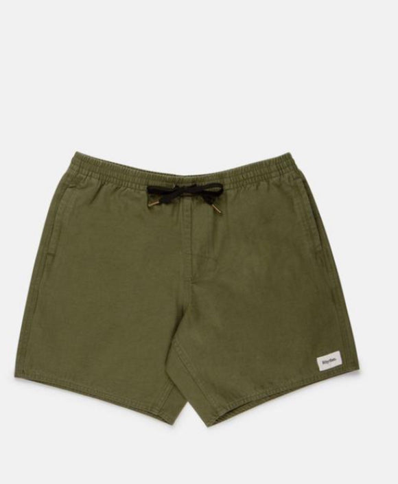 RHYTHM MENS // Box Jam Shorts Olive
