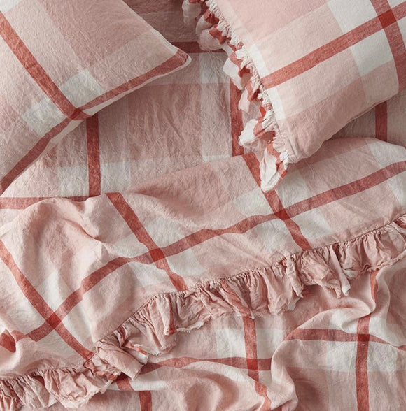 SOCIETY OF WANDERERS // Ruffle Flat Sheet Floss