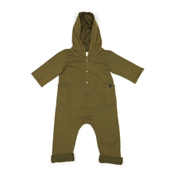 CHILDREN OF THE TRIBE The Explorer Hooded Onesie