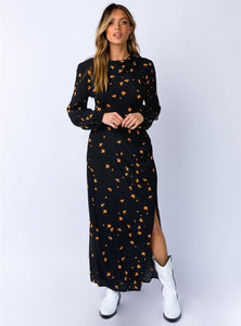 MINKPINK Dandi-Clock Midi Dress