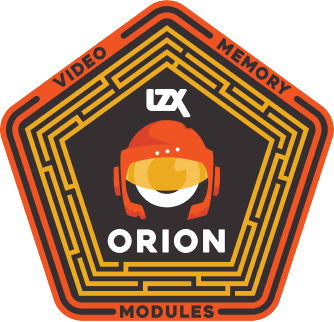 Orion Series Vinyl Sticker