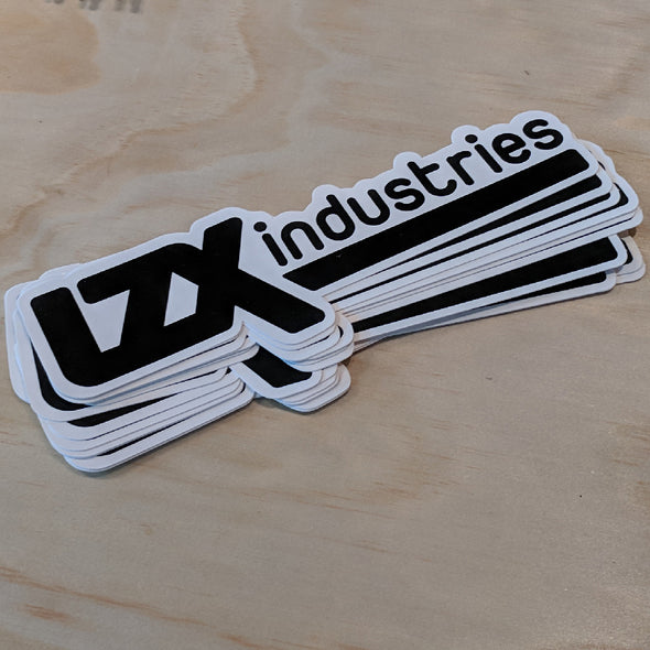 LZX Logo Vinyl Sticker