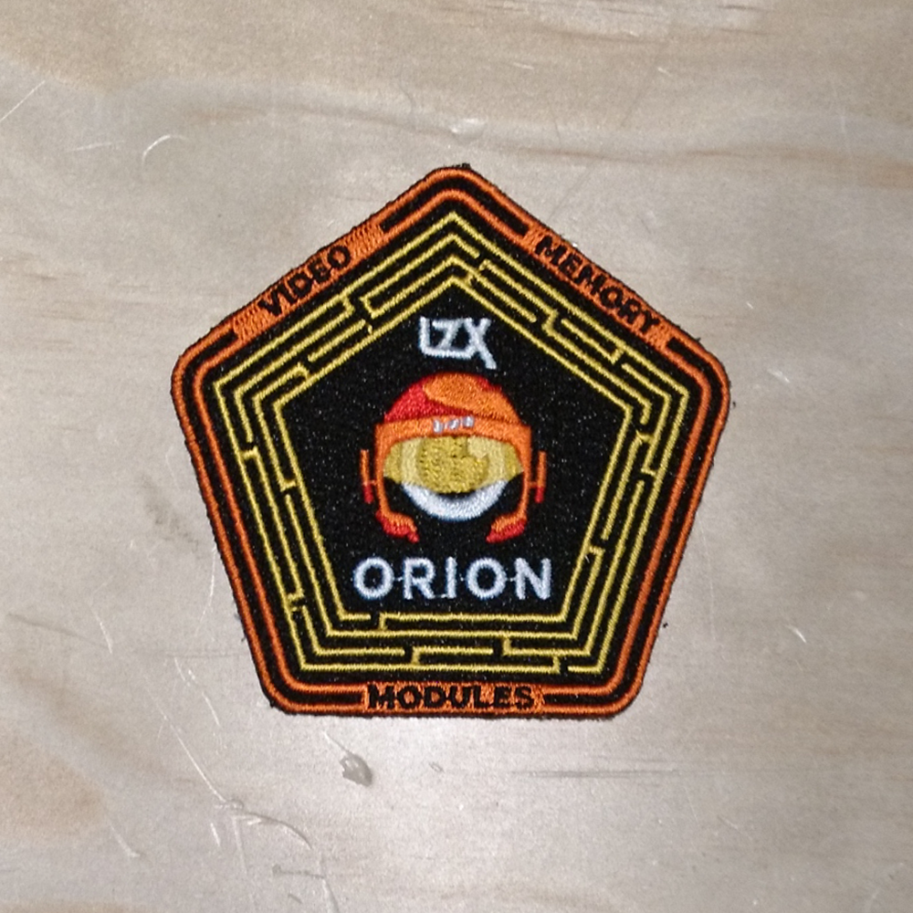Orion Series Embroidered Patch