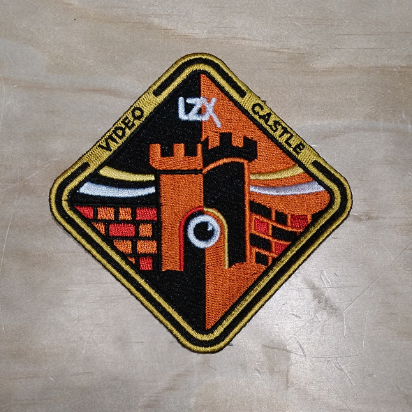 Castle Series Embroidered Patch