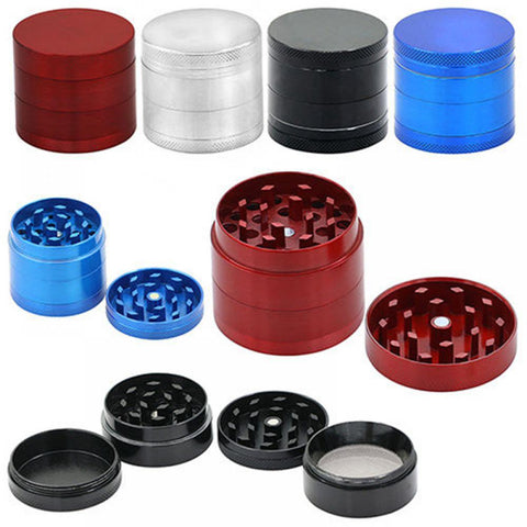 3 Chamber Alloy Herb Grinder