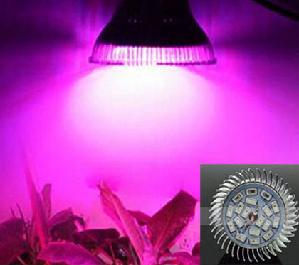 Full Spectrum LED Grow Light Bulb 18W