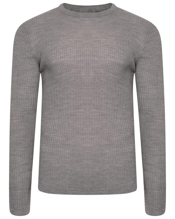 Muscle Fit Knit Grey