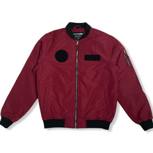 Load image into Gallery viewer, Padded MA1 Jacket Plum