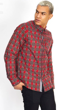 Load image into Gallery viewer, Flannel Tartan Shirt Red