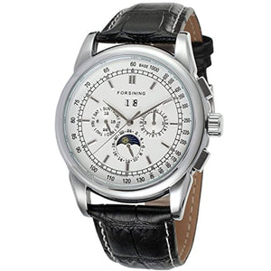 Automatic Night Day Watch White