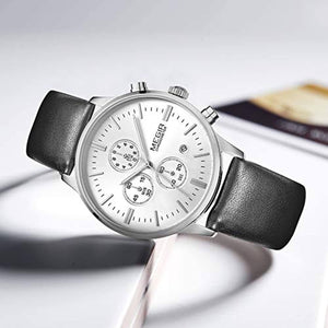 Classic Chrono Watch Silver
