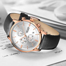 Load image into Gallery viewer, Classic Chrono Watch White Rose Gold