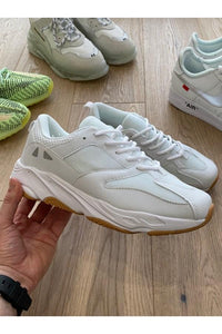 Chunky Trainers All White
