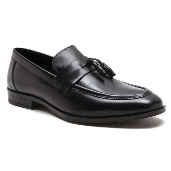 Lumley Leather Loafers Black
