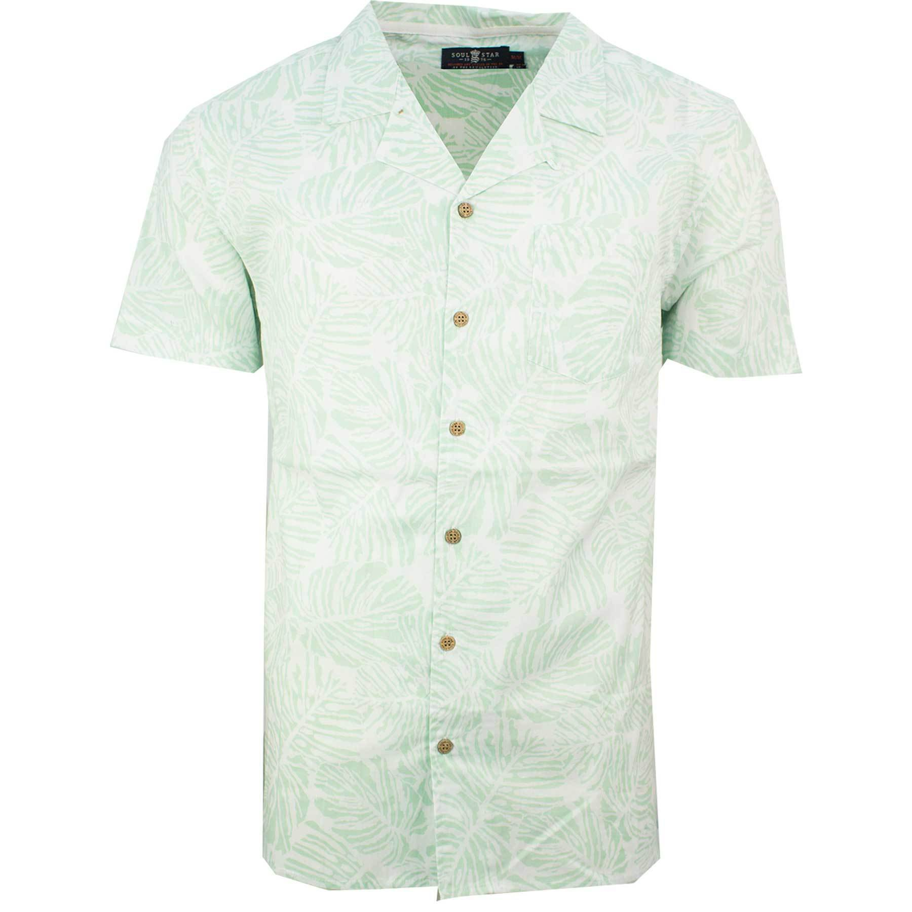 Hawaiian Holiday Shirt Mint