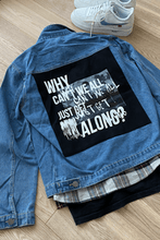 Load image into Gallery viewer, Back Panel Denim Jacket