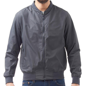 Lightweight Bomber Jacket Grey