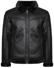 Load image into Gallery viewer, Luxury Fur Lined Blackout MA2 Jacket