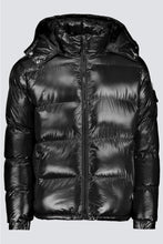 Load image into Gallery viewer, Mountain Puffer Shine Black