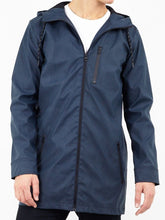Load image into Gallery viewer, Rain Parka Navy