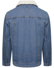 Load image into Gallery viewer, Sherpa Denim Jacket