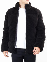 Load image into Gallery viewer, Teddy Jacket Black