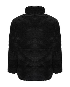 Teddy Jacket Black