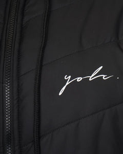 Signature Puffer Jacket Black