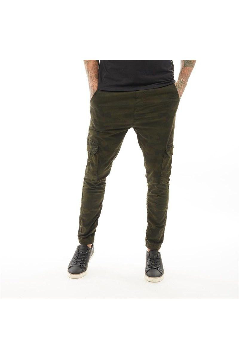 Skinny Cargo Bottoms Khaki