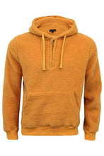 Load image into Gallery viewer, Sherpa Fleece Hoodie Yellow
