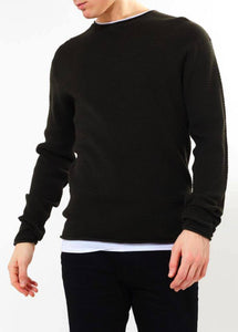 Crew Knit Navy Layer