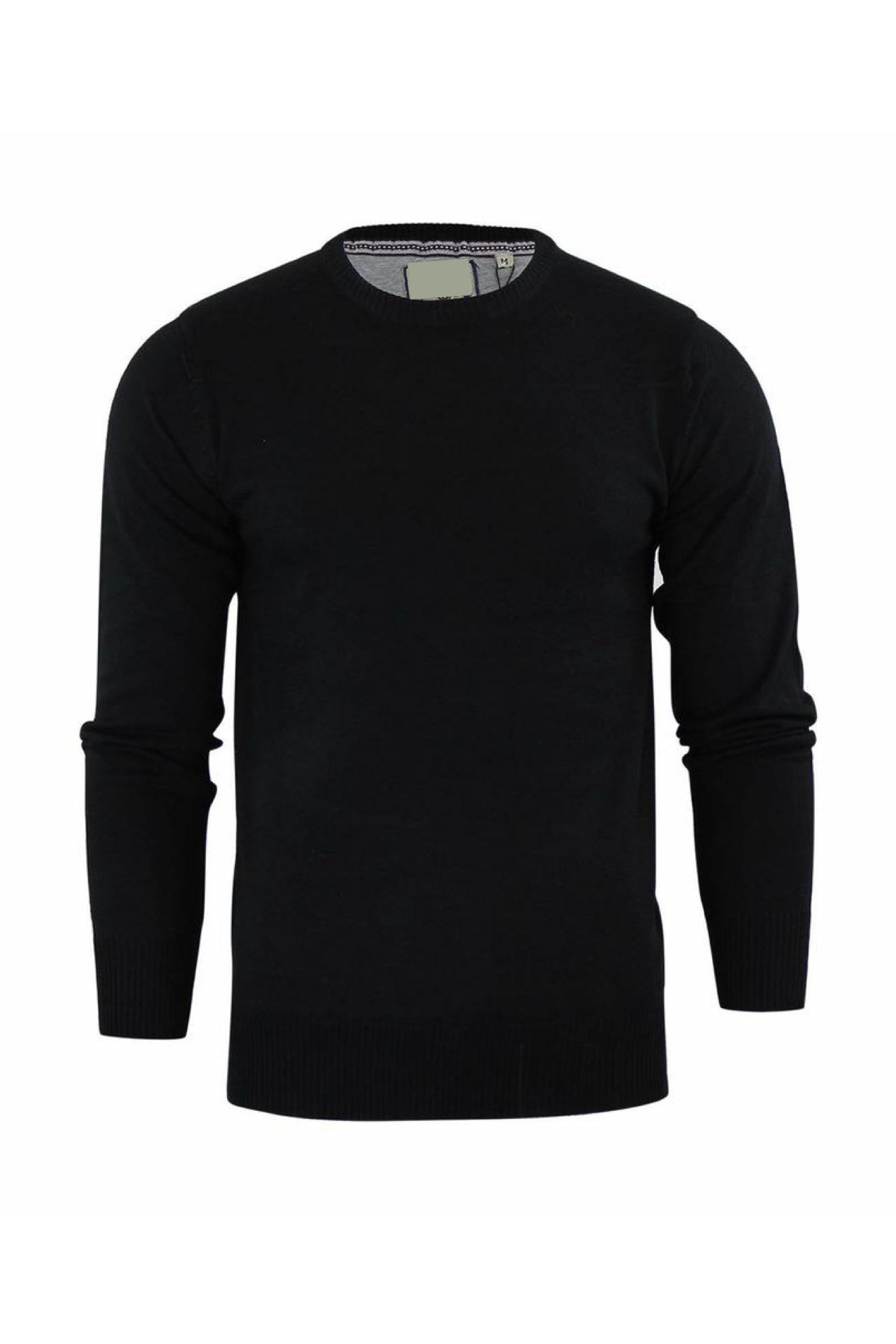 Crew Lightweight Knit Knit Black