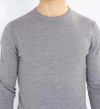 Load image into Gallery viewer, Crew Lightweight Knit Knit Grey