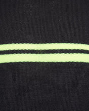 Load image into Gallery viewer, Crew Neon Stripe Knit Charcoal