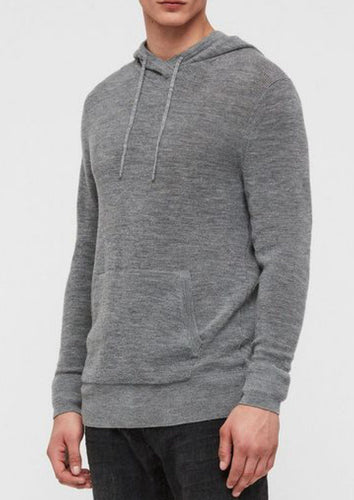 Knitted Hoodie Charcoal